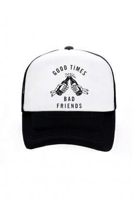 Trucker kepurė (GOOD TIMES BAD FRIENDS)