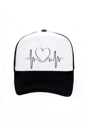 Trucker kepurė (HEART BEAT)