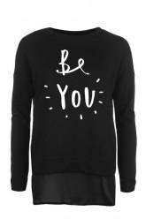Be you prailgintas džemperis