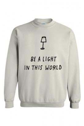Unisex džemperis Be a light
