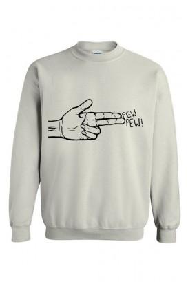 Unisex džemperis Pew pew