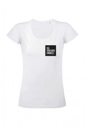 Mot. marškinėliai Kill them
