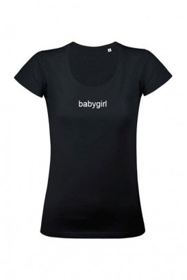 Mot. marškinėliai babygirl