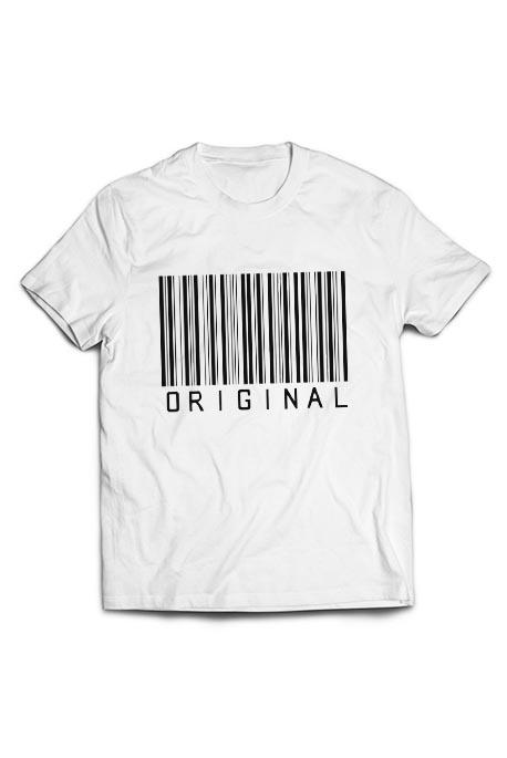 Vyr. marškinėliai barcode original