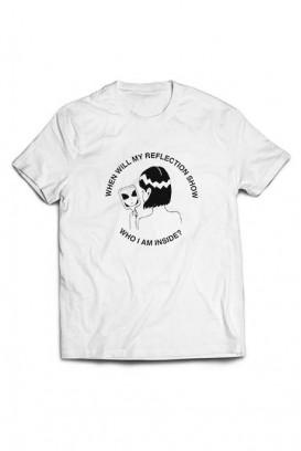 Mot. marškinėliai reflection
