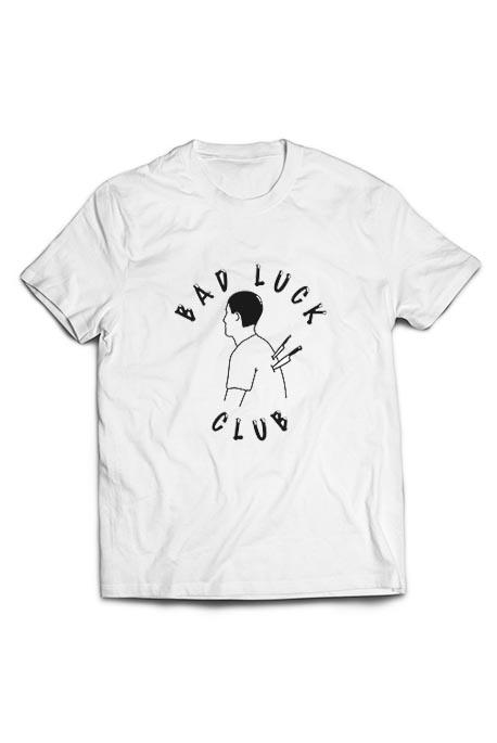 Vyr. marškinėliai Bad Luck Club