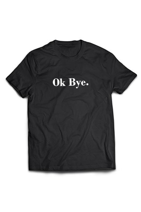 Mot. marškinėliai Ok Bye