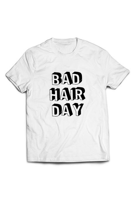 Mot. marškinėliai Bad Hair Day