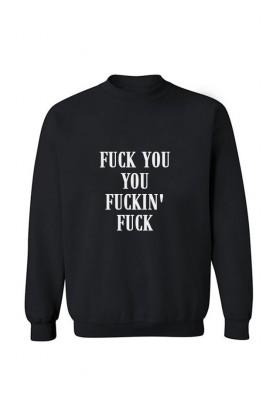 Unisex džemperis Fuck