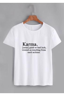 Vyr. marškinėliai Karma
