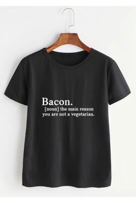 VYR. MARŠKINĖLIAI Bacon