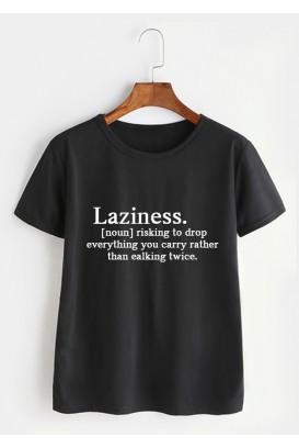 VYR. MARŠKINĖLIAI Laziness