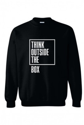 Unisex džemperis think outside the box