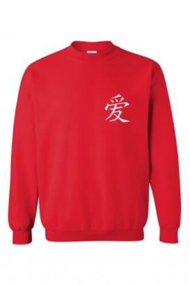 Love in Chinese džemperis