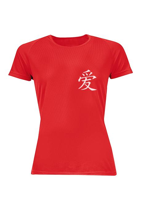 Mot. marškinėliai Love in Chinese