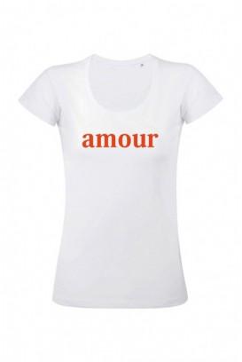 Mot. marškinėliai amour
