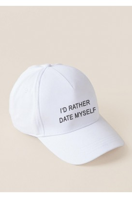 Baseball kepurė (I'd rather date myself)