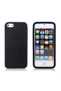 Kietas juodas iPhone 5 dėkliukas