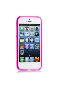 Minkštas rožinis dėkliukas(iPhone 5)