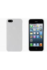 Minkštas baltas dėkliukas(iPhone 5)