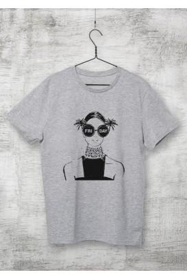 Mot. marškinėliai Friday
