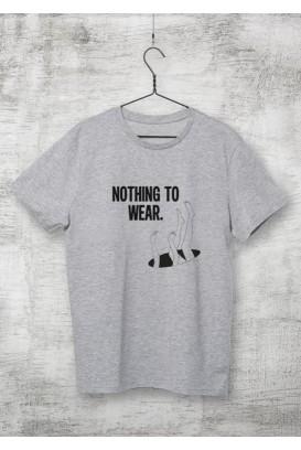 Mot. marškinėliai nothing to wear