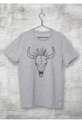 Mot. marškinėliai Boho Bull