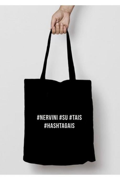 Eko krepšys #nervini #su #tais #hashtagais