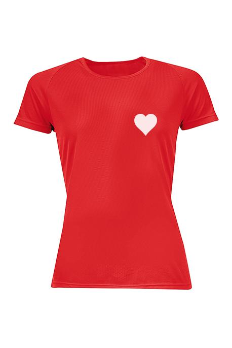 Mot. marškinėliai All Star Hearts