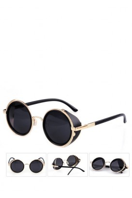 Steampunk akiniai nuo saulės