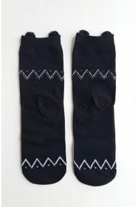 Medvilninės Owl Kawaii kojinės