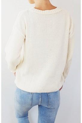 Šviesus OBEY megztinis