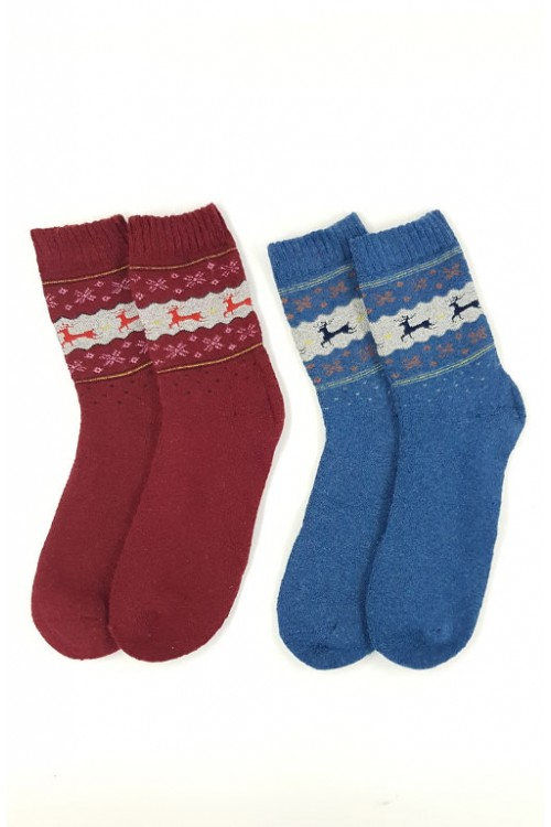 Vyr. kojinių komplektas (100% angora)