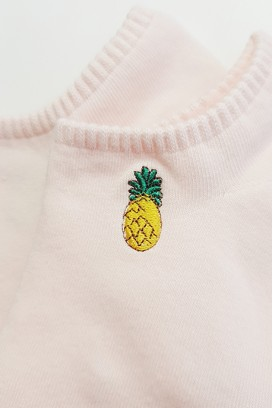 EMBROIDERED INVISIBLE KOJINĖS