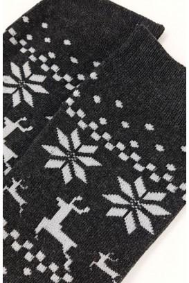 Thick & comfy snowflake kojinės