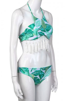 2 dalių tassel maudymosi kostiumėlis