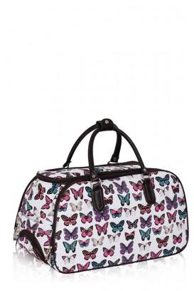 Butterfly kelioninis krepšys su ratukais