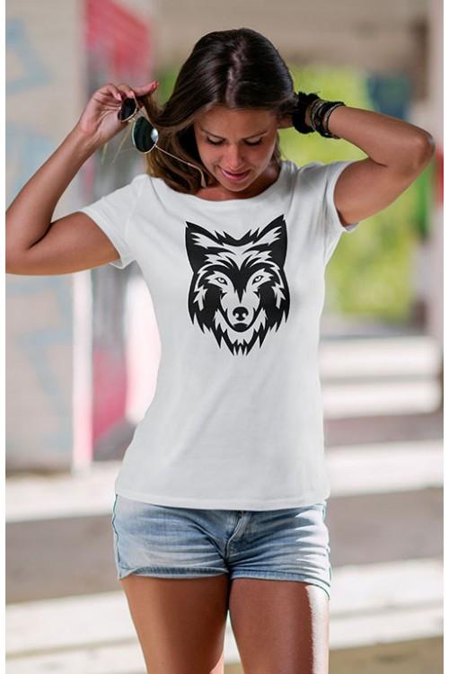 Mot. marškinėliai WOLF