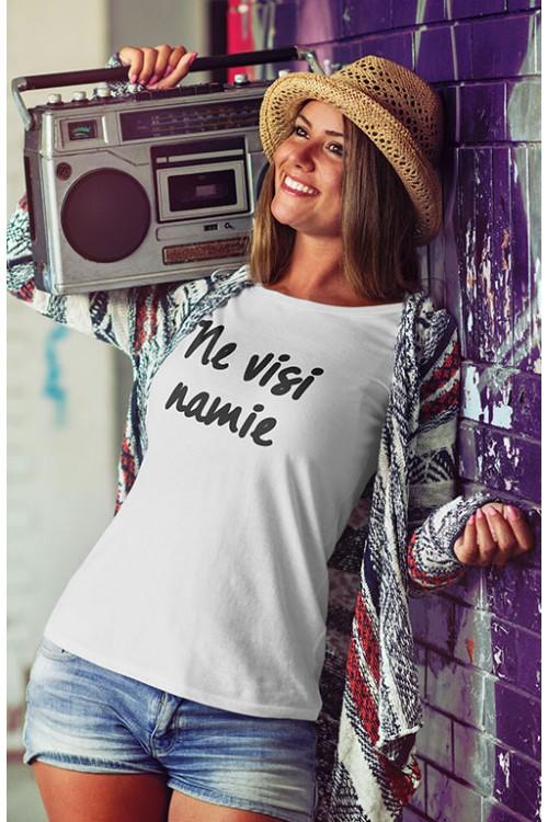 Mot. marškinėliai Ne visi namie