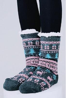 Christmas spirit kojinės - tapkės (ABS)