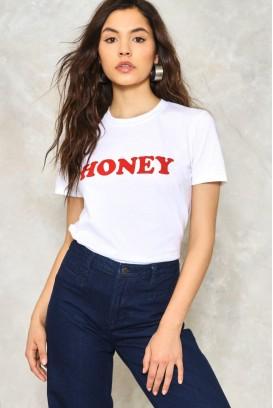 MOT. MARŠKINĖLIAI Honey